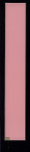 EL-Panel, pink-white, 41mm x 254mm, laminated
