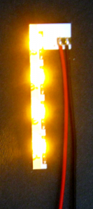 LED-FPC, yellow-orange