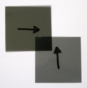 Polarized film, 53mm x 53mm, non-adhesive