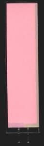 EL-Panel, pink-white, 18mm x 74mm, laminated